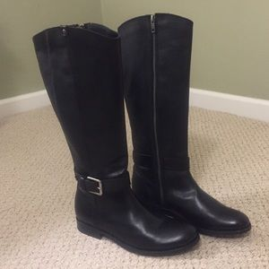 Frye Black Riding Boots New Size 8
